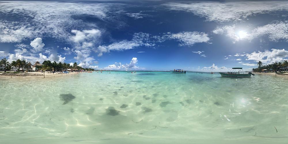 Despidiendo el año 2016 con esta vista!! Mahahual Quintana Roo México
