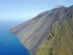 Volcano Stromboli, Aeolian Islands