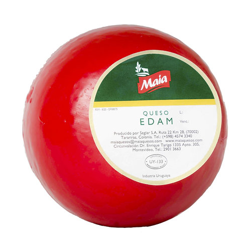 Edam cheese ball
