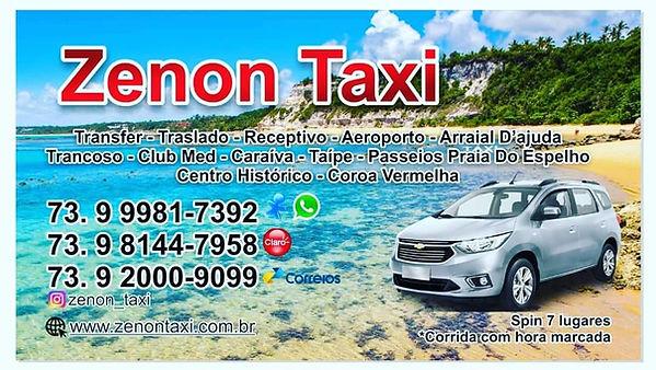 taxi em trancoso
