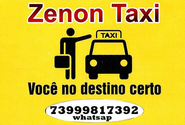 zenon taxi logo marca