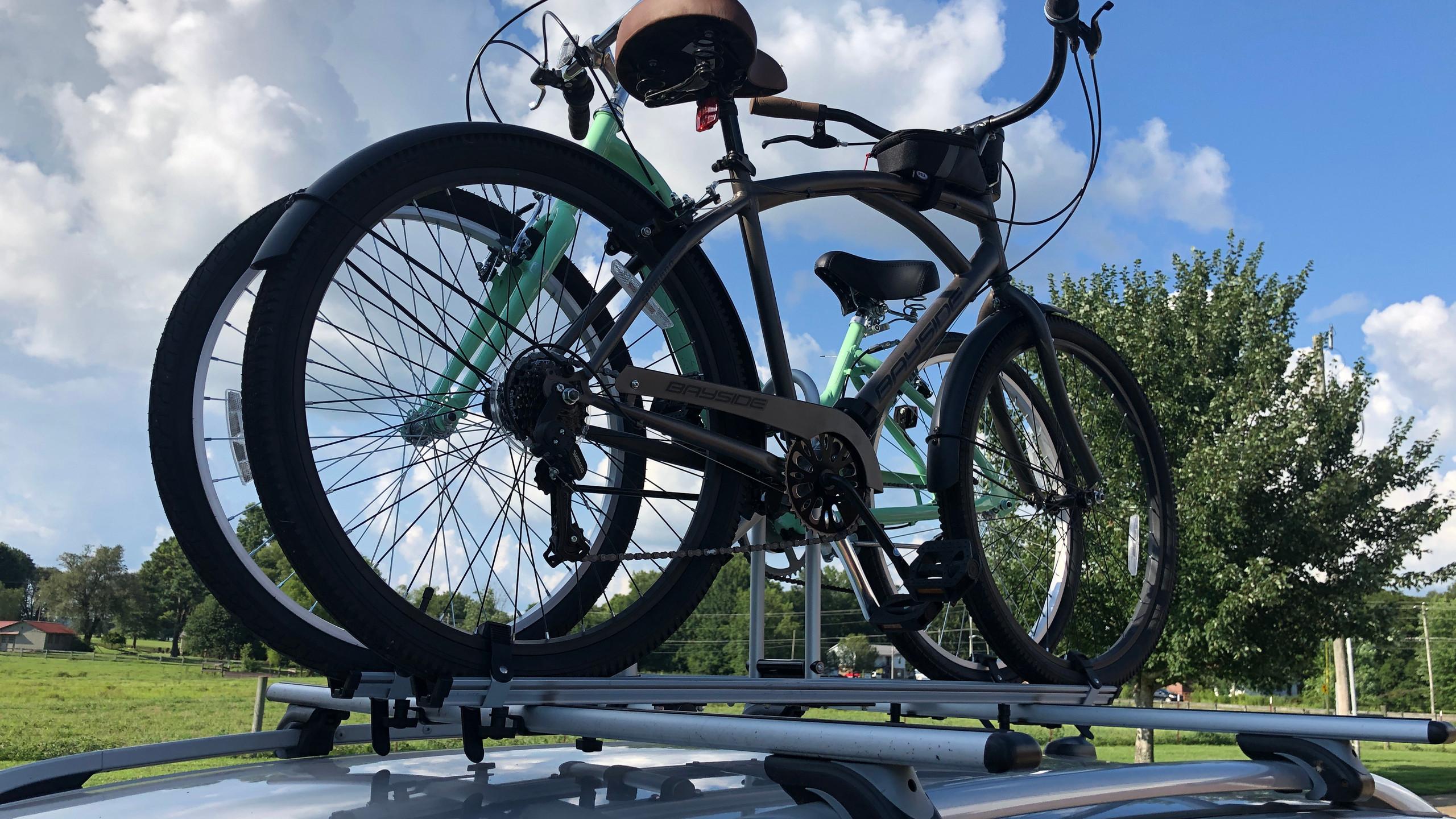 new 2-bike roof rack