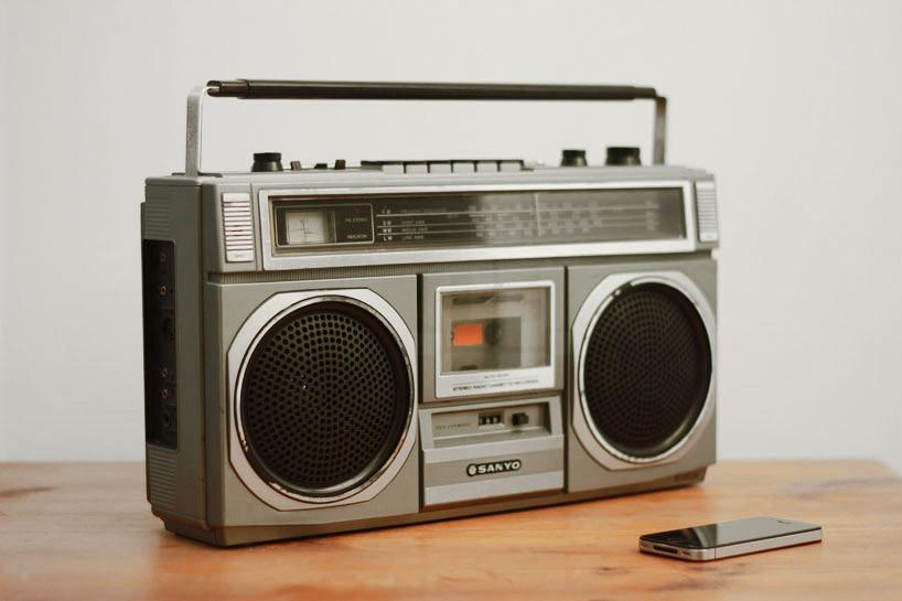 Cassette Boom Box