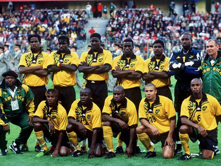 The Reggae Boyz at the Fifa World Cup: Jamaican Football on the Biggest Stage of Them All.