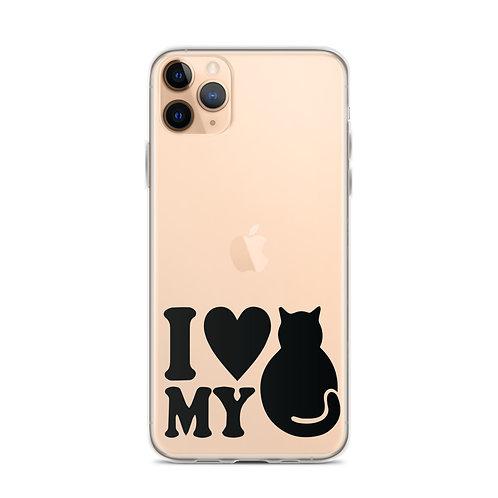 I Love my Cat Phone Case
