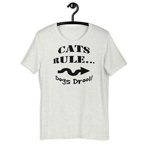 Cat's Rule Unisex Tee