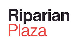 1. GOLD - RiparianPlaza_Logo_CMYK_Stacke