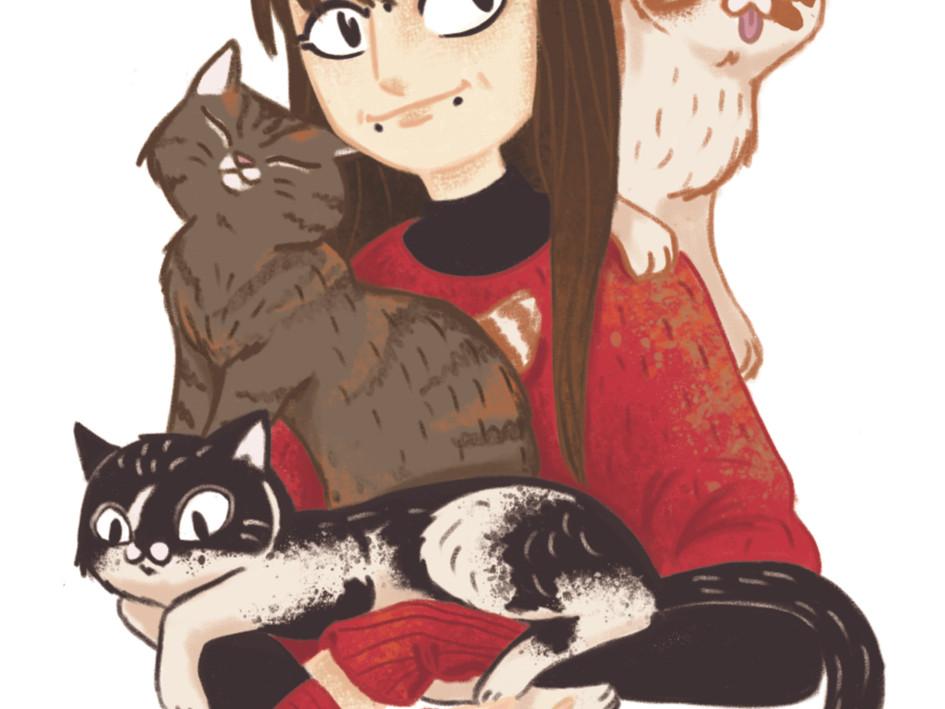 Smulz mit Katzen