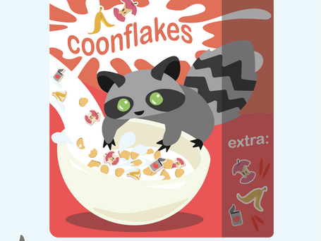 Coonflakes - mit dem Extra an Müll