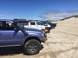 On the Beach in Florence Oregon