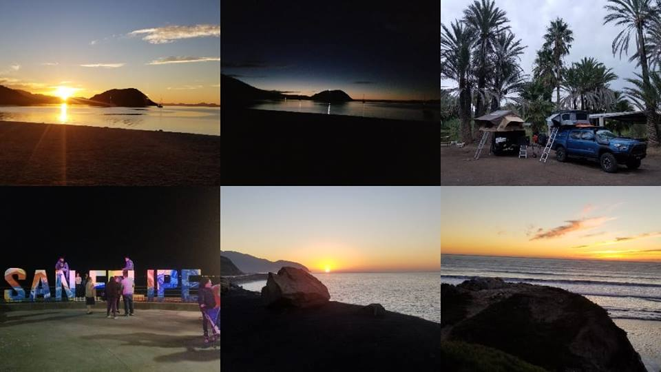 Baja Trip Collage