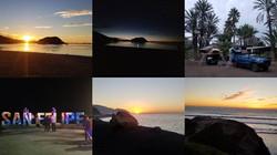 Baja Trip Collage