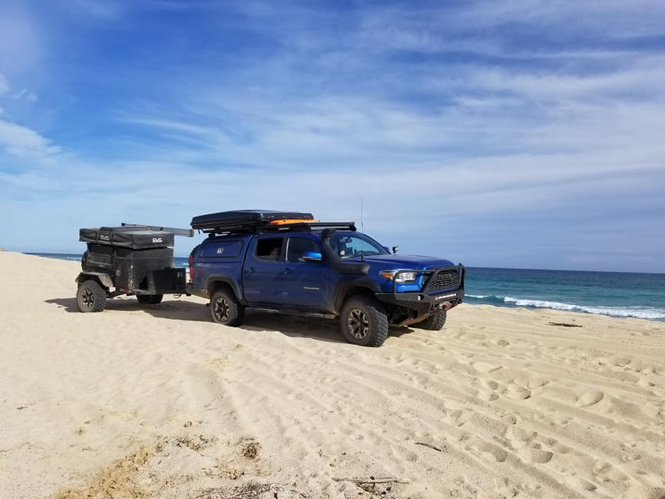 On The Beach in Baja