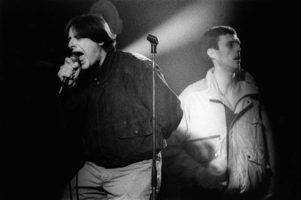 Bez & Shawn de Happy Mondays.