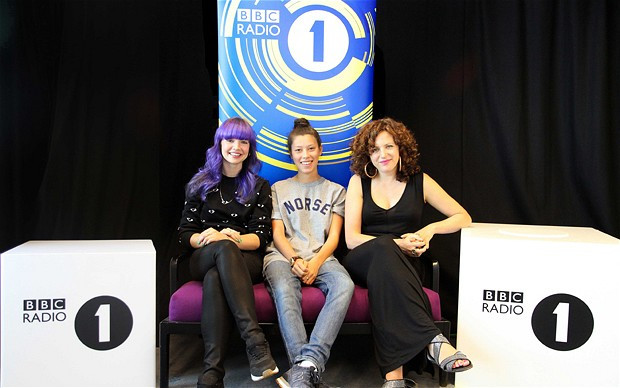 B-Traits, Monki, Annie Mac (DJs de la BBC Radio1)
