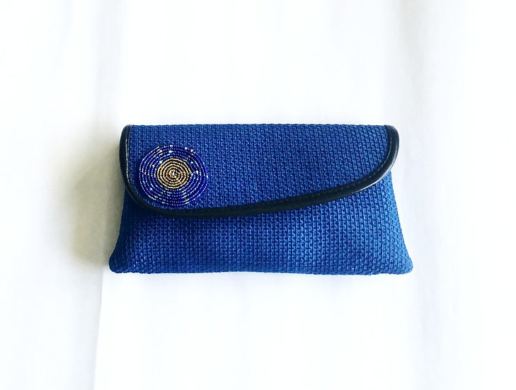 Handcrafted African Print Clutch