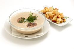 Суп пюре грибной