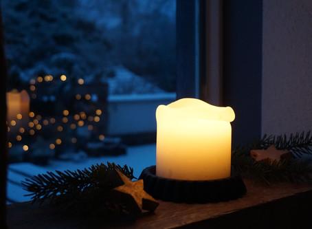 Kerzenhalter selbstgemacht