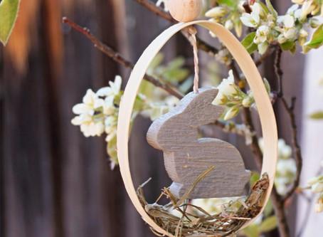 Ich hänge die Hasen dieses Jahr ins Ei