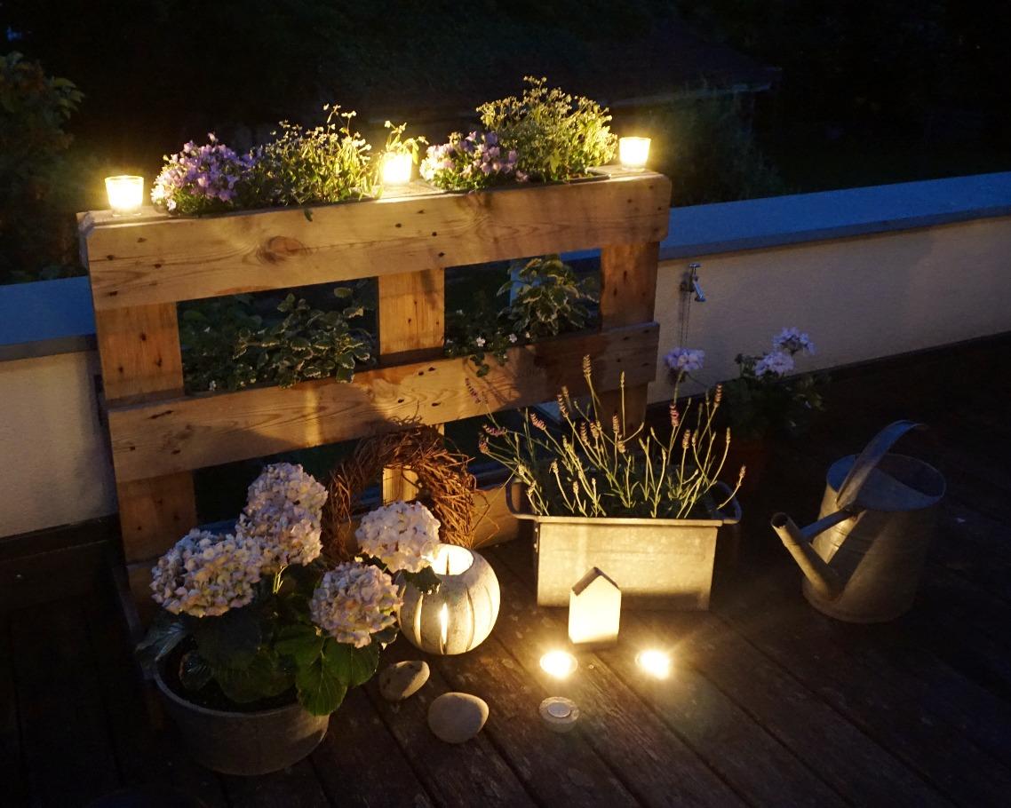 Romantische Abendstimmung