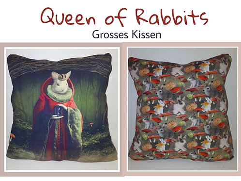 Queen of Rabbits - Kissen