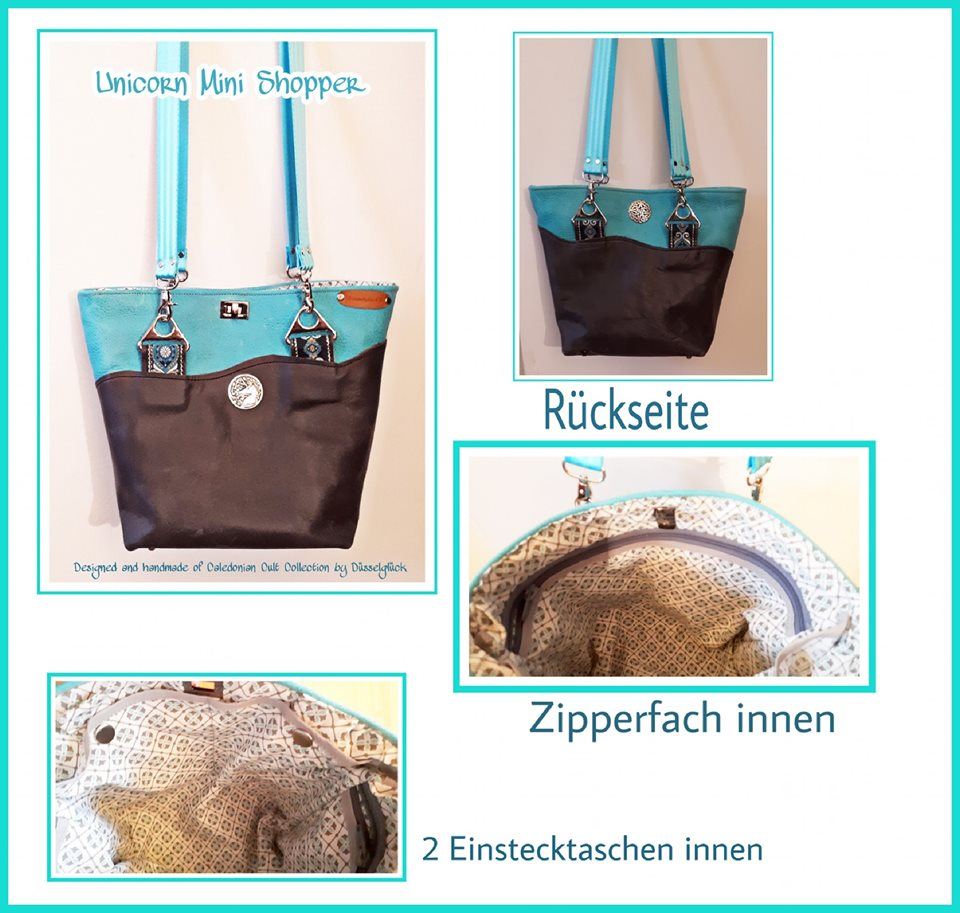 Unicorn Mini Shopper - Kopie