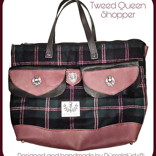 TWEED QUEEN SHOPPER
