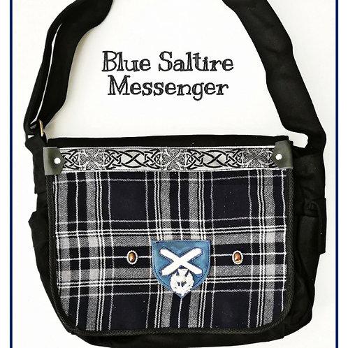 Blue Saltire Messenger