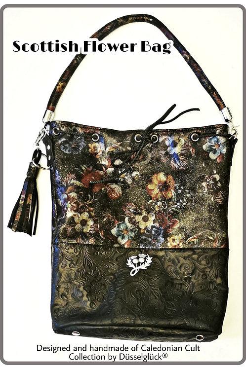 Scottish Flower Bag