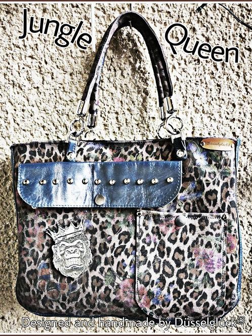 Jungle Queen - Schafleder Print