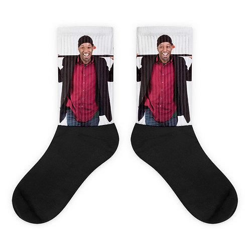 Slinging Jokes Socks.  Step out in style with your favorite comedian!