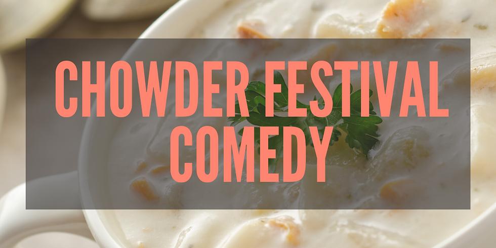 Chowder Festival Comedy w/Ithaca's Finest and Headliner Lauren Turczak