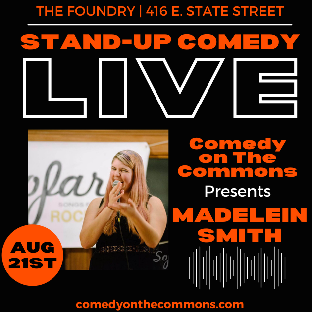 Live Laughs Comedy Series:  Madelein Smith