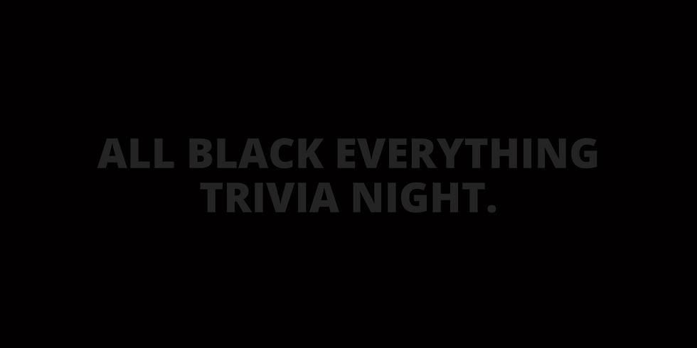 All Black Everything Trivia Night (Virtual Event)