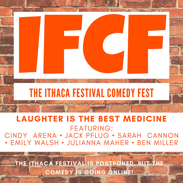 Ithaca Festival Comedy Fest: Laughter is The Best Medicine