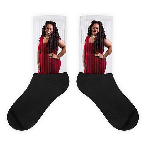 Singing Notes Socks, step out in style with your favorite singer, SingTrece.