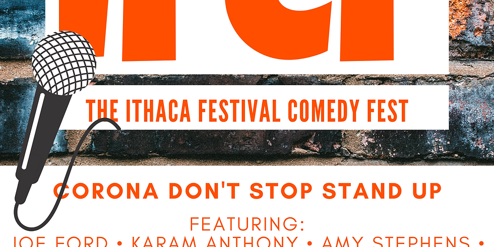 Ithaca Festival Comedy Fest: Corona Don't Stop Stand-Up