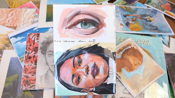 Eye and Woman Study