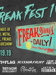 Senior Discount at Freakfest with Anti Flag in Providence!