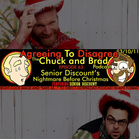 #63 - Senior Discount's Nightmare Before Christmas