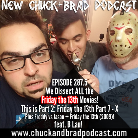 "#287.5 - The ""Friday the 13th"" Saga - Part 2"