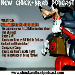 #334 - Chuck and Gina's Pickle Fight, The Shining, and Sleepaway Camp