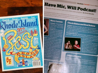 """RI Monthly - """"Rhode Island's Best Podcasters"""""""