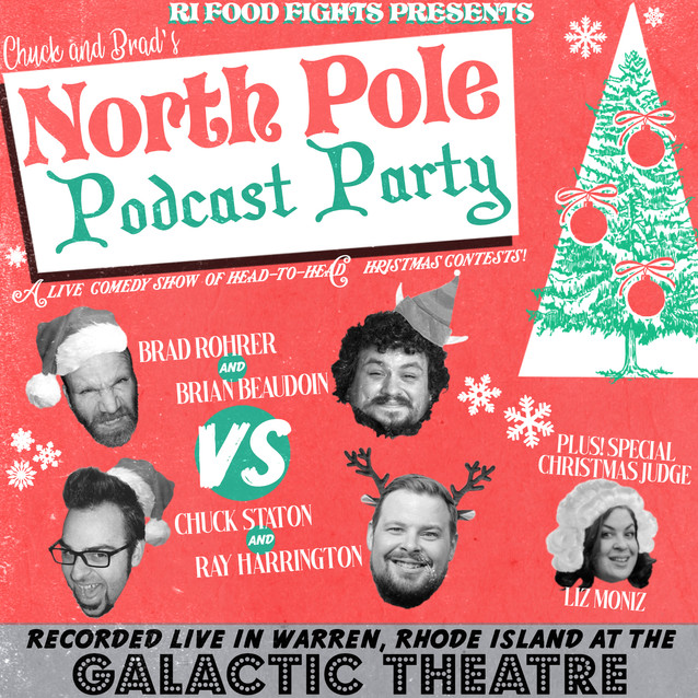 #446 - Chuck and Brad's North Pole Podcast Party!