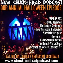 #232 - Halloween 2015 - Costumes, Celebration, and The Grinchverse