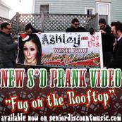 VID: Fug on the Rooftop - The Christmas Banner Prank