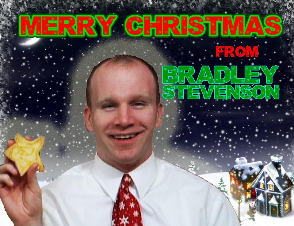 VID: Brad's Christmas Card Prank