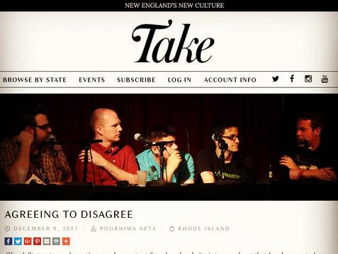 """The Take - """"Agreeing to Disagree"""""""
