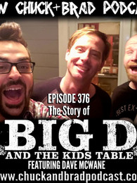 Chuck interviews Dave from Big D on the Chuck and Brad Podcast!