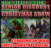 VID: Chuck, Brad + S*D Watch the Ninja Turtles Christmas Special